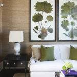 Grasscloth Textured Walls