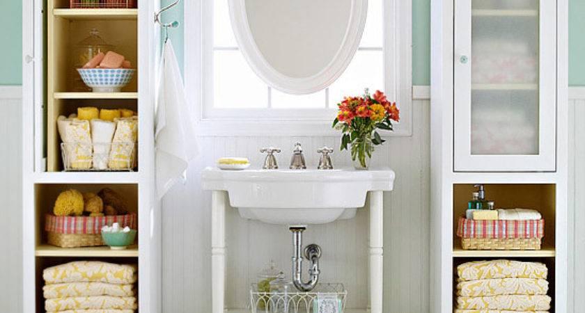 Great Bathroom Storage Ideas Small Bathrooms