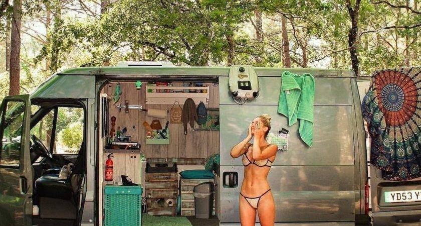 Great Beach Camping Happy Camper