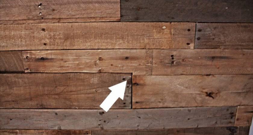 Great Idea Pallet Wood Wall