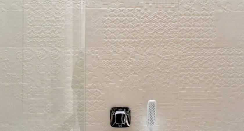 Great Ideas Grey Textured Bathroom Tiles