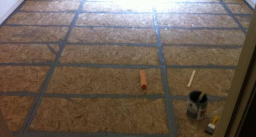 Great Ideas Painting Plywood Subfloor