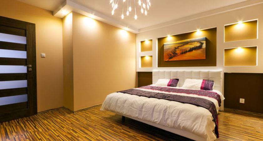 Great Lighting Master Bedroom Design Interior Ideas