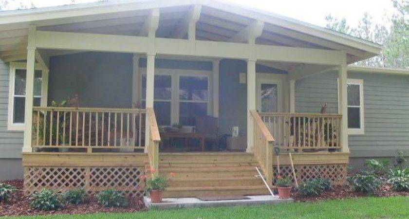Great Manufactured Home Porch Designs Mobile Living