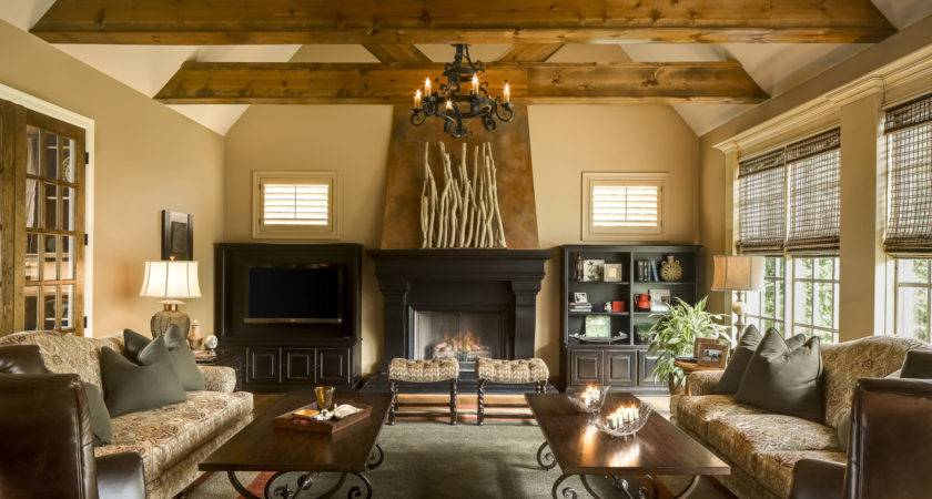 Great Room Gets Makeover Design Connection Inc