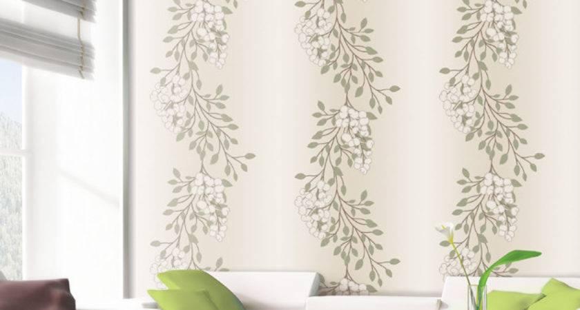 Green Leaves Self Adhesive Vinyl Wall Covering