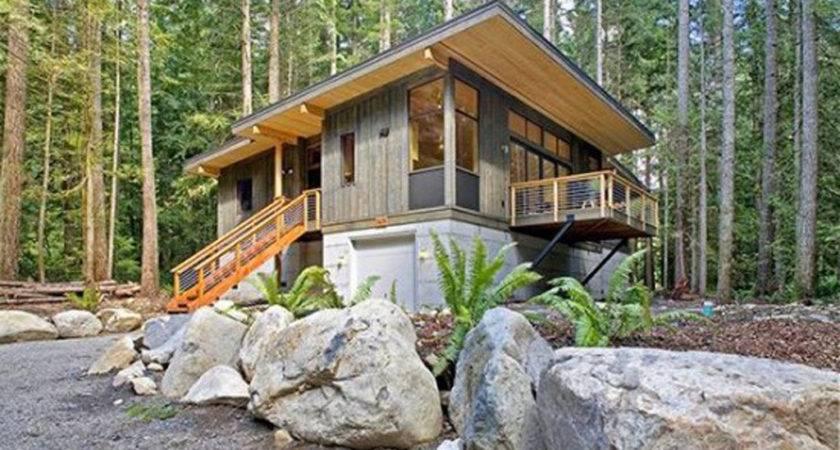 Green Prefab Eco Friendly House Designs Washington