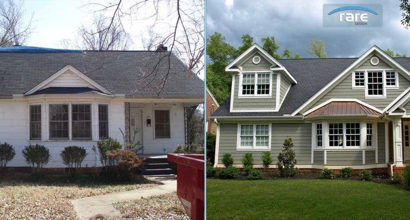 Greenville Home Remodel Rare Design Before After
