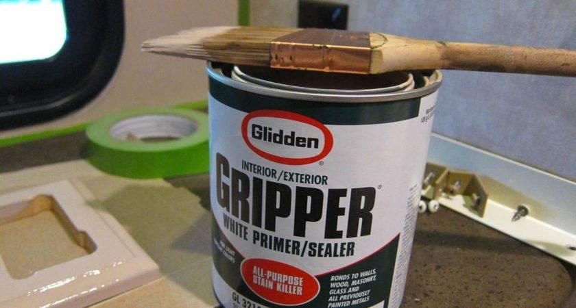 Gripper Best Primer Painting Walls Travel Trailer