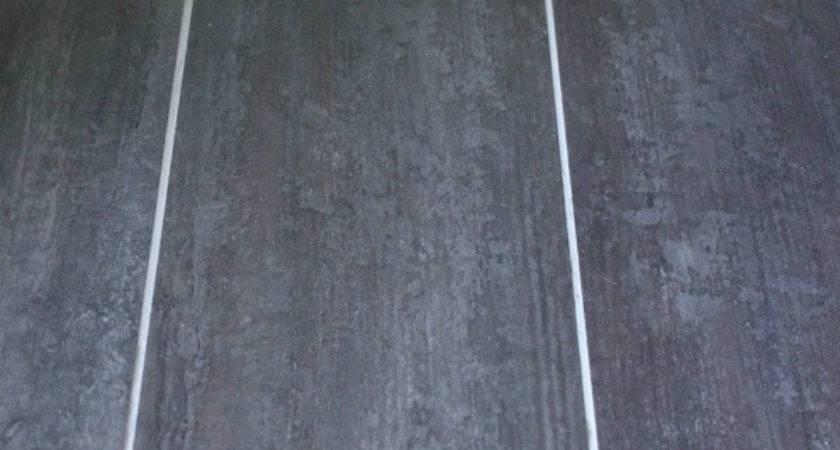 Groutable Vinyl Tile Spacing Diy Install
