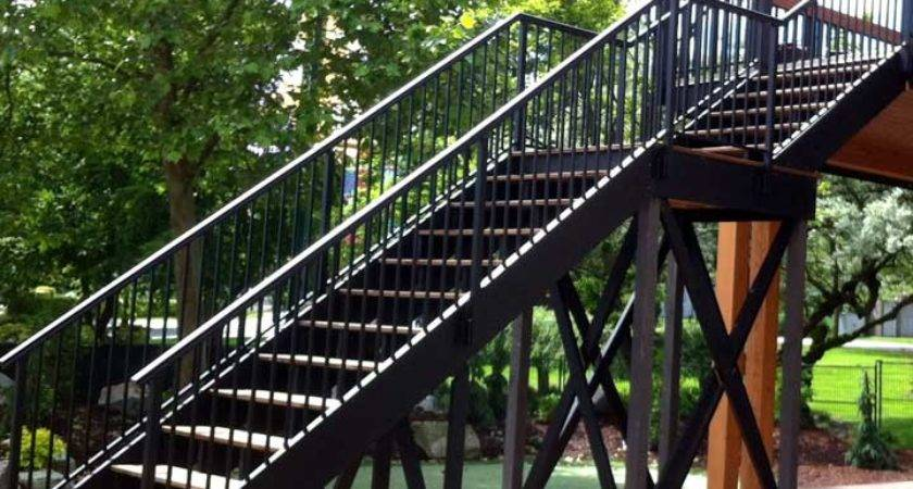 Guardrail Solutions Outdoor Stairways Safe Access