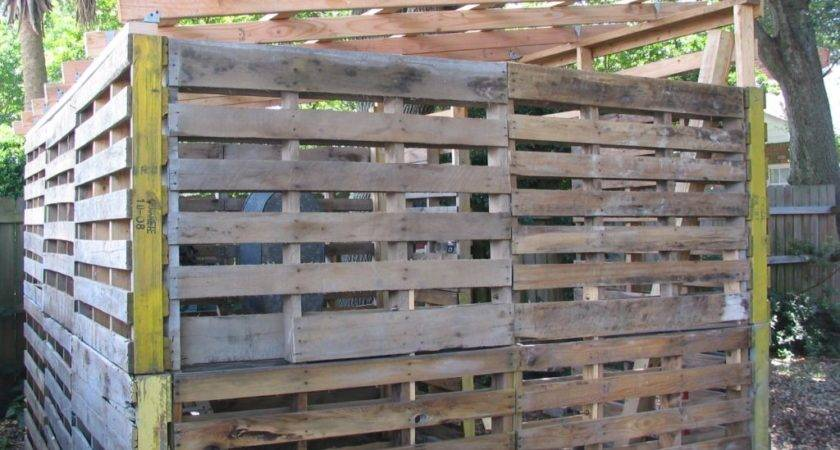Guide Get Storage Shed Made Pallets Build