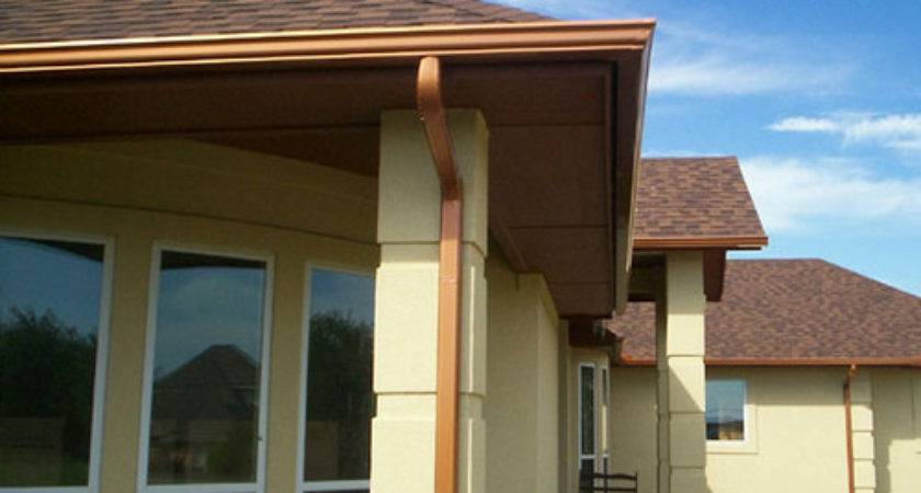 Gutters Homes Mobile Copper Diy Rain Gutter Guard Worth