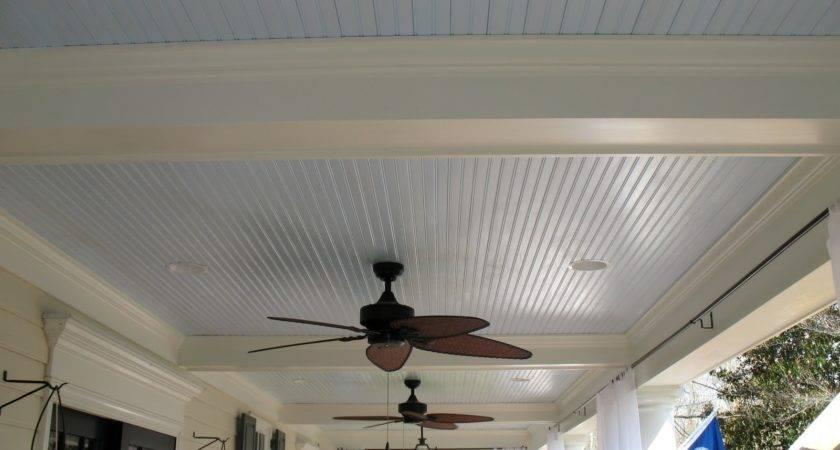 Haint Blue Porch Ceilings