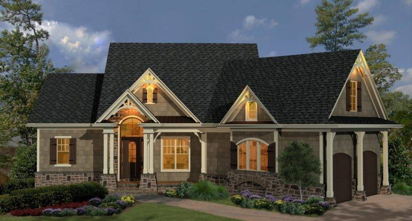 Half Houses Small French Country Cottage House Plans