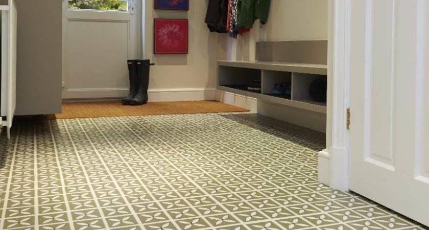 Hallway Flooring Ideas Vinyl Rubber Tiles Harvey Maria