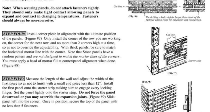 Handlaid Brick Skirting Faux Skirt Panels