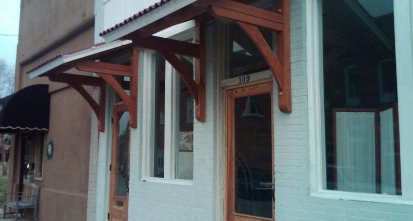 Handmade Office Door Awnings Moresun Custom Woodworking