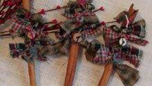 Handmade Primitive Christmas Ornaments Bing