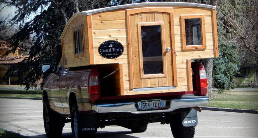 Handmade Wood Camper Inspired Steinbeck Novel