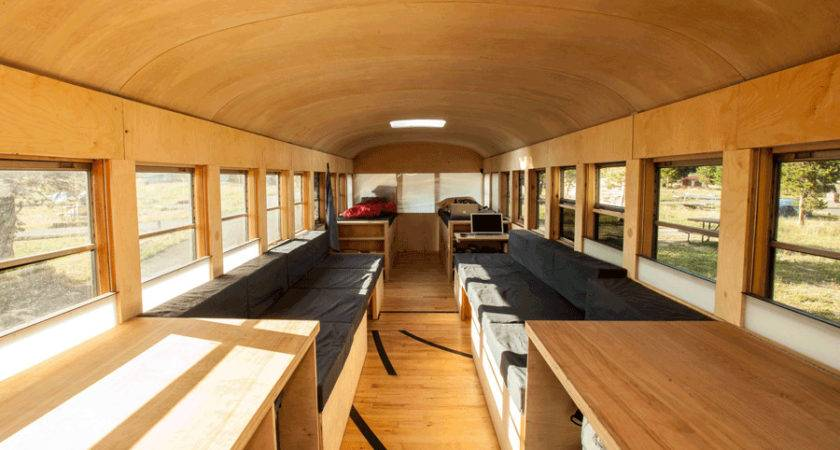 Hank Bought Bus Project Transformed School Into