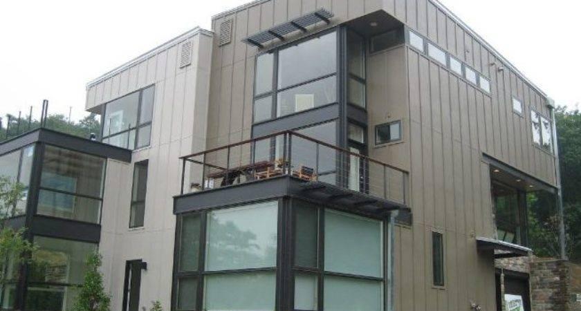 Hardie Board Batten Exterior Siding Modern House