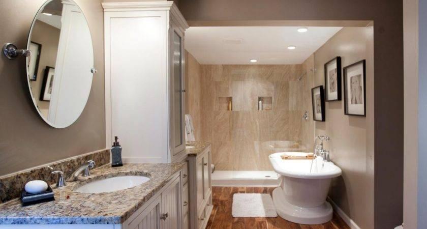 Hardwood Right Choice Bathroom Floor