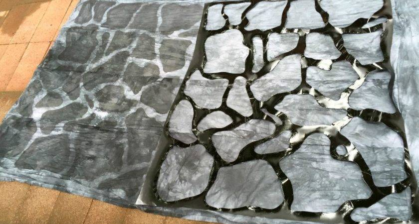 Harry Potter Fake Stone Wall Tutorial Tutorials