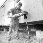 Harshberger Worked Tie Down Mobile Home Lantana