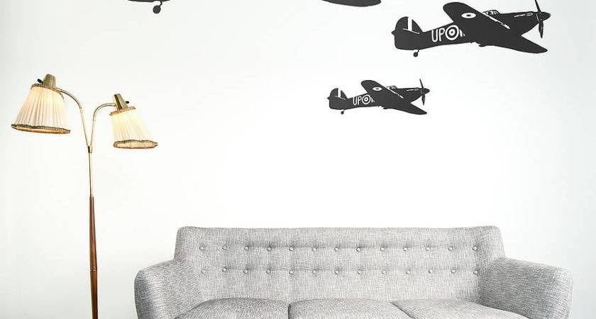 Hawker Hurricane Vinyl Wall Sticker Oakdene Designs