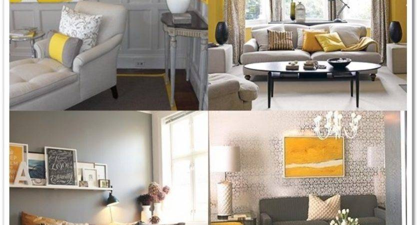 Heart Home Decor Grey Yellow