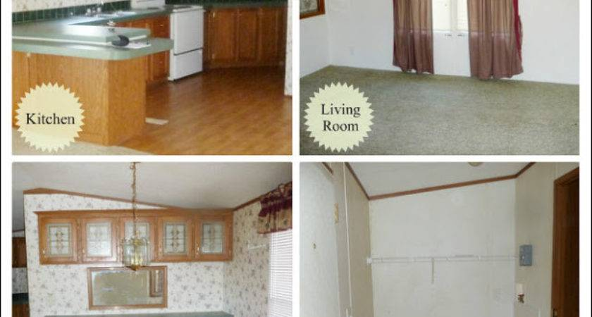 Heart Song Our Mobile Home Before After