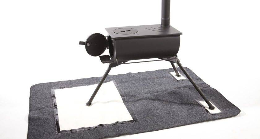 Heat Mat Frontier Outbacker Wood Burning Stove