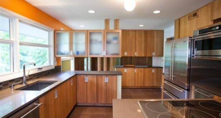 Herndon Design Tri Level Mid Century Modern Kitchen Remodel