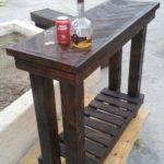 Herringbone Pallet Table Pallets