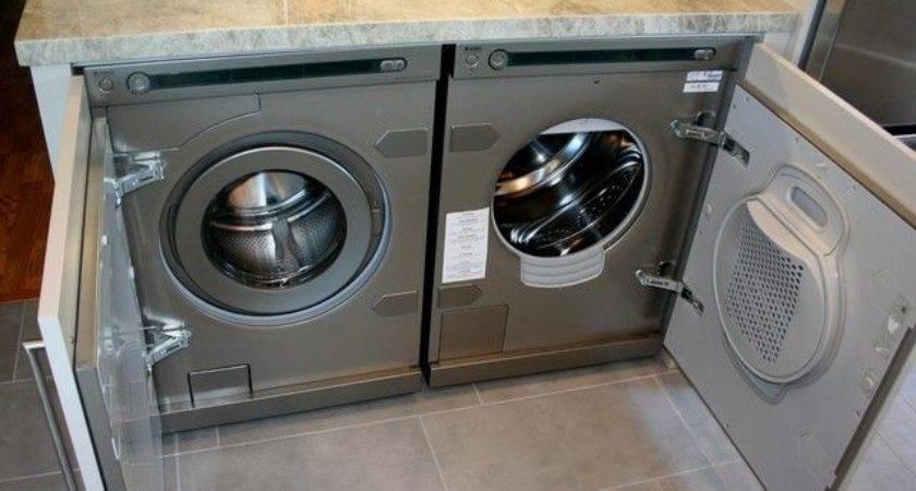 Hiding Washer Dryer Kitchen Google Search