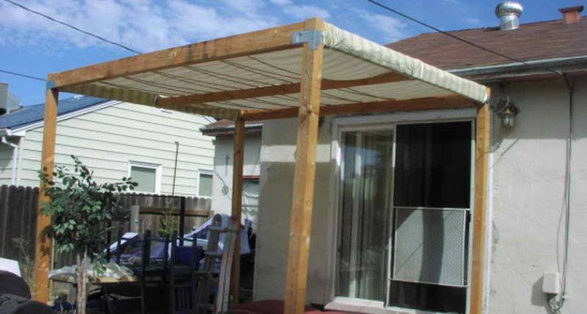 High Building Patio Cover Build