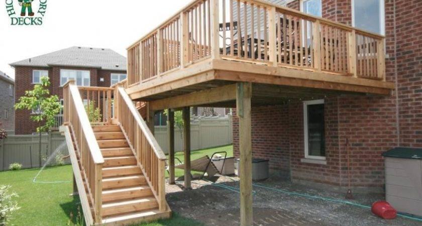 High Diy Deck Plans