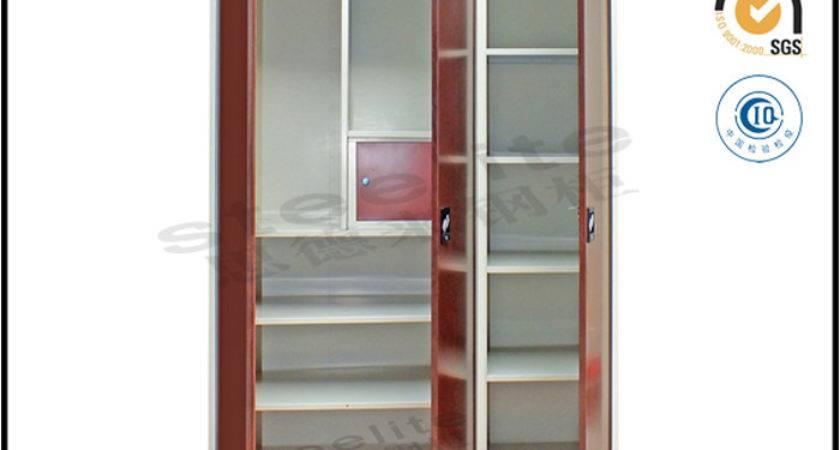 High Gloss Door Almirah India Modular Homes Furniture