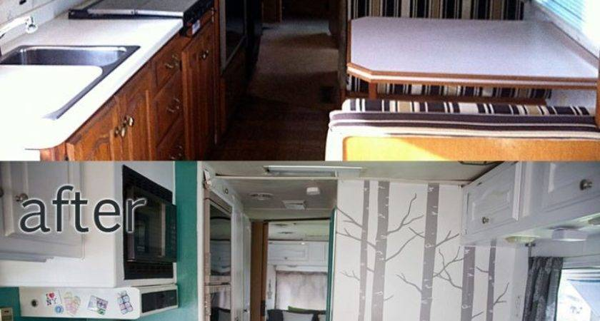 High Interior Remodeling Motorhome