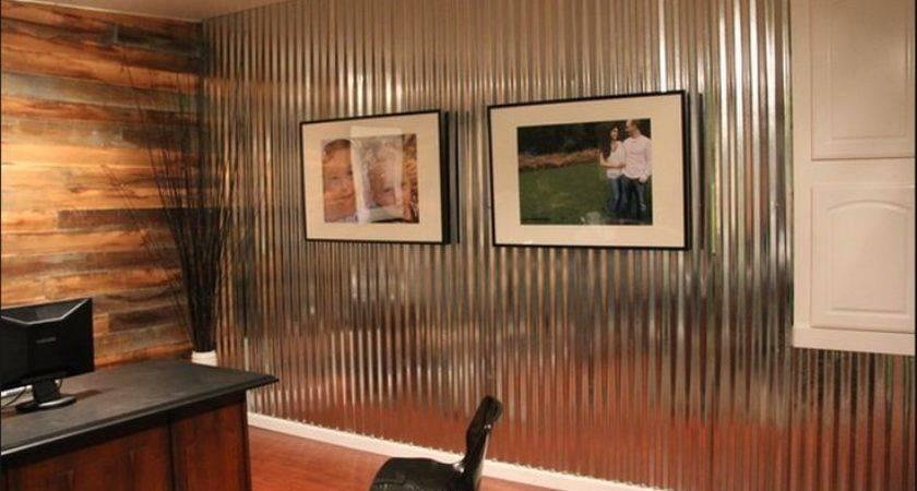 High Quality Corrugated Metal Interior Walls Rustic
