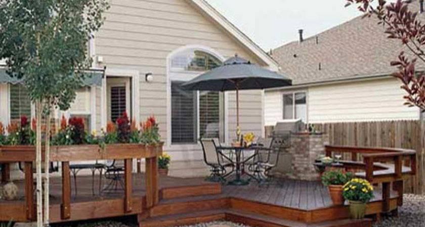High Quality House Deck Plans Patio Designs