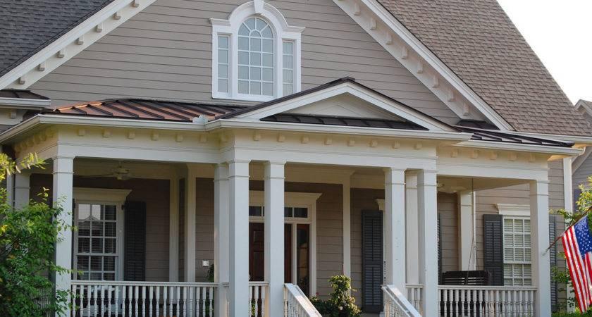 Hip Gable Porch Roof Combo Break Line Ideas