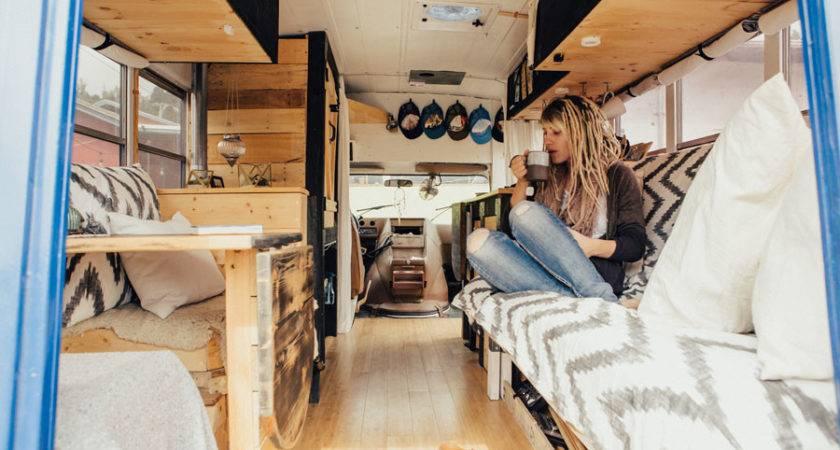 Hippy Chic Short School Bus Conversion Heidi Michele