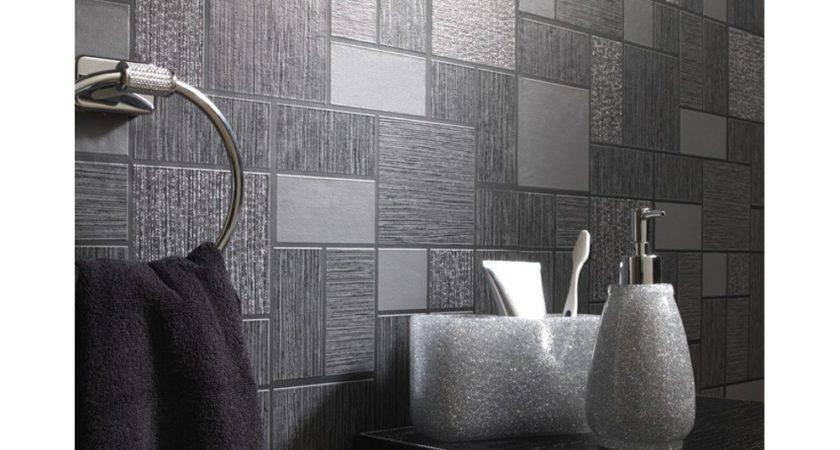 Holden Cor Tile Pattern Glitter Motif Kitchen Bathroom