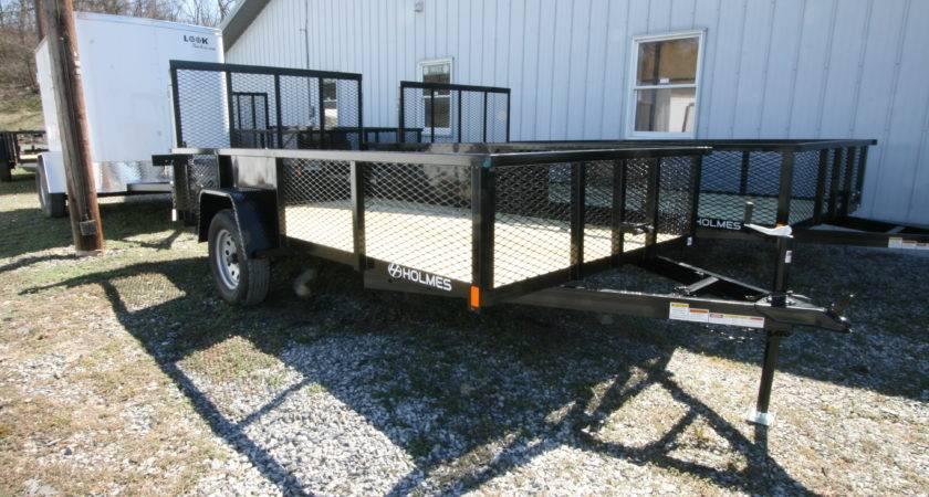 Holmes Flat Bed Utility Trailer Single Axle