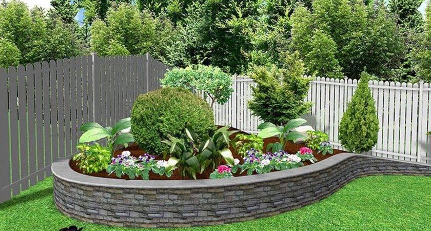 Home Decor Cute Front Yard Garden Ideas Wonderful