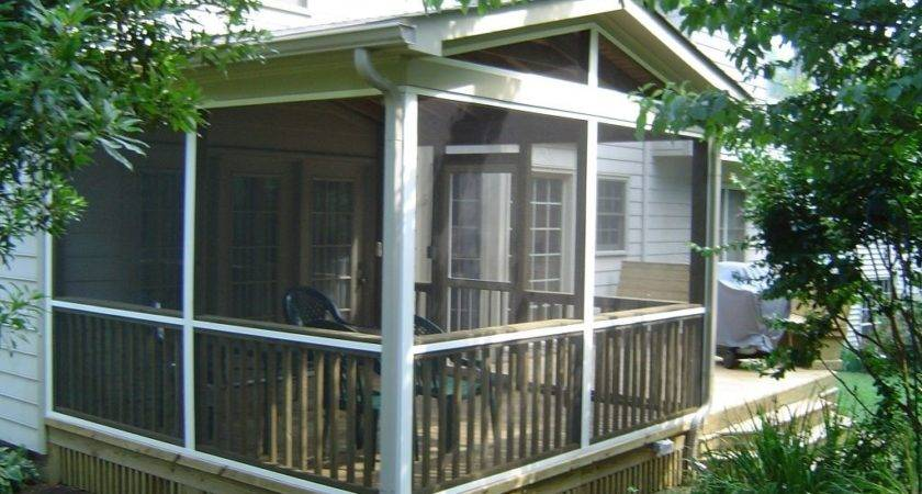 Home Depot Screened Porch Kits Screen