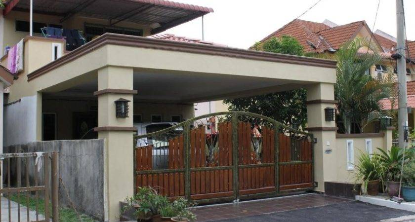 Home Design Car Porch