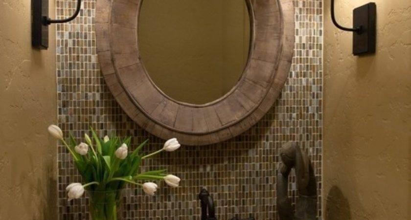 Home Designs Ideas Mosaic Tile Backsplash Bathroom